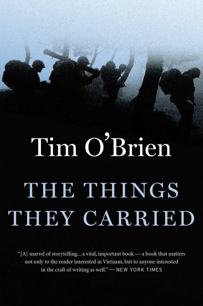 Tim O'Brien's gripping Book, The Things They Carried